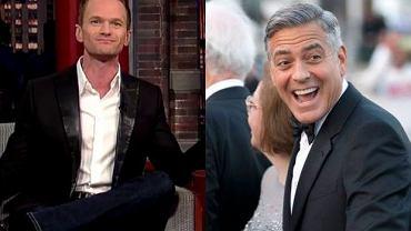 Neil Patrick Harris i George Clooney