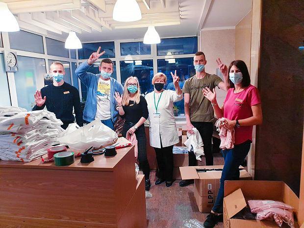 LPP, firma odzieżowa z Gdańska, wspiera szpitale w walce z koronawirusem