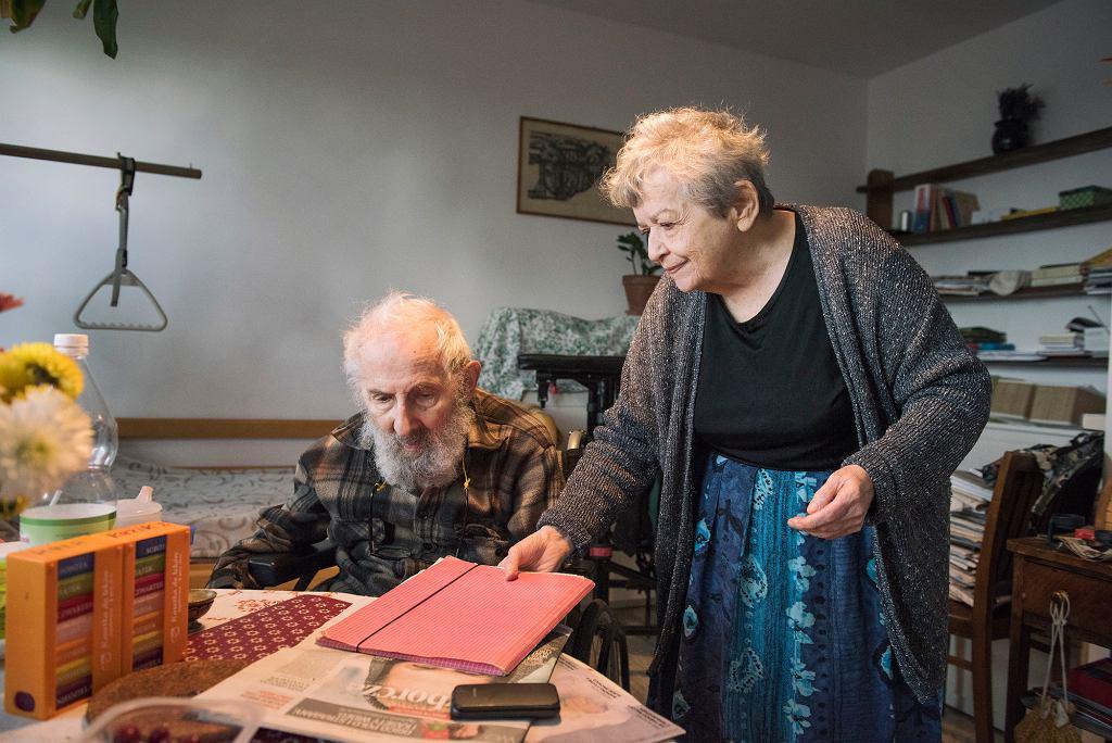 Halina Bortnowska z mężem (fot. Karolina Jonderek)