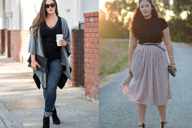 modne ubrania plus size