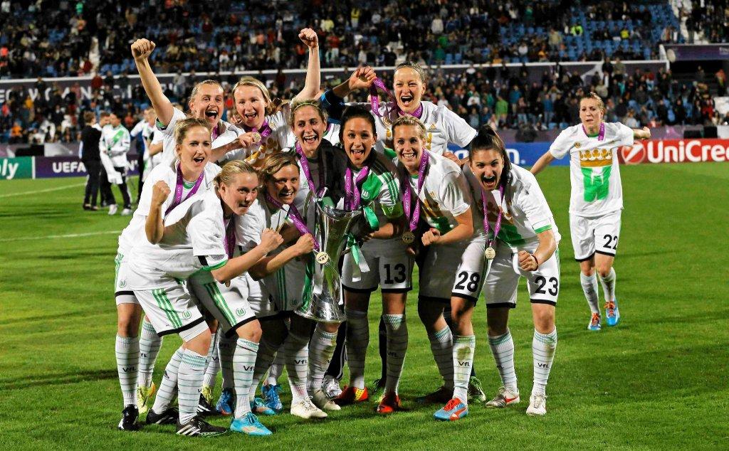 VfL Wolfsburg pokonał szwedzki zespół Tyreso FF 4:3 (0:2) w finale piłkarskiej Ligi Mistrzyń, który w czwartek został rozegrany w Lizbonie.