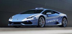 Lamborghini Huracan dla włoskiej policji