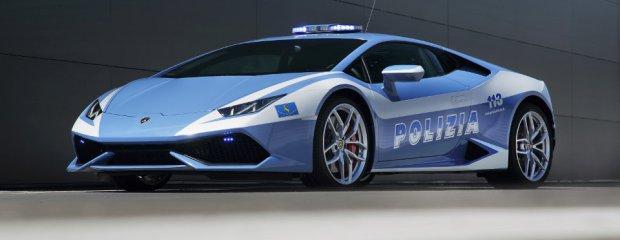 Nowe Lamborghini dla włoskiej policji