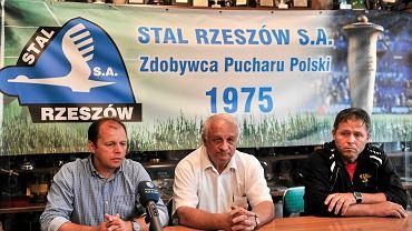 Konferencja prasowa po meczu Stal Rzeszów - Górnik Łęczna 2:1 (Puchar Polski)