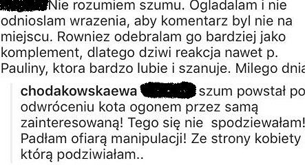 Ewa Chodakowska komentuje