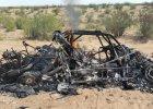 Rajd Dakar. Małyszowi spłonął samochód tuż przed metą drugiego etapu