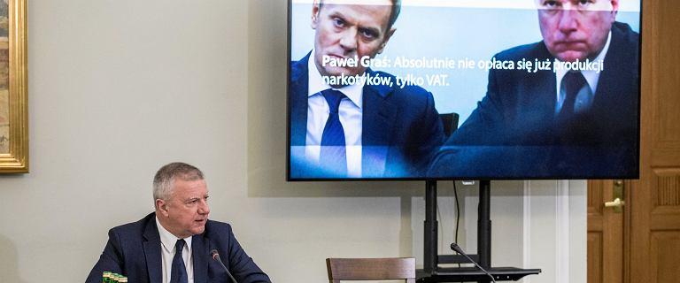 Paweł Graś przed komisją ds. VAT. Puszczono mu nagrania z