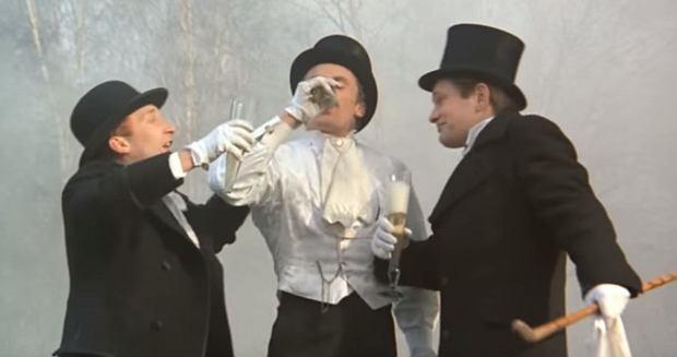 Kadr z filmu 'Ziemia obiecana'