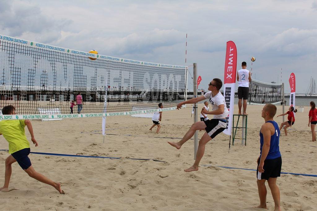 Turniej siatkówki plażowej Ziaja Cup 2016