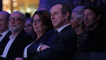 Małgorzata Kidawa-Błońska i Tomasz Grodzki