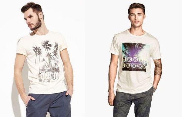 Koszulki z kolekcji H&M i Reserved
