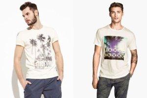 Lato w powietrzu - i na męskich koszulkach