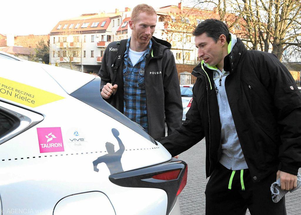 Karol Bielecki i Sławomir Szmal przyjechali razem klubowym samochodem