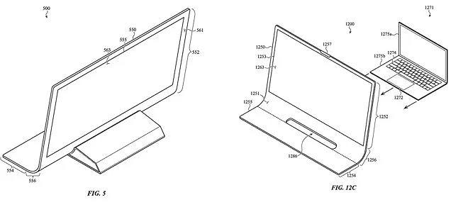 iMac, patent Apple