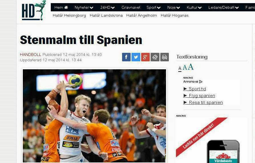 Zrzut ze szwedzkiej internetowej hd.se