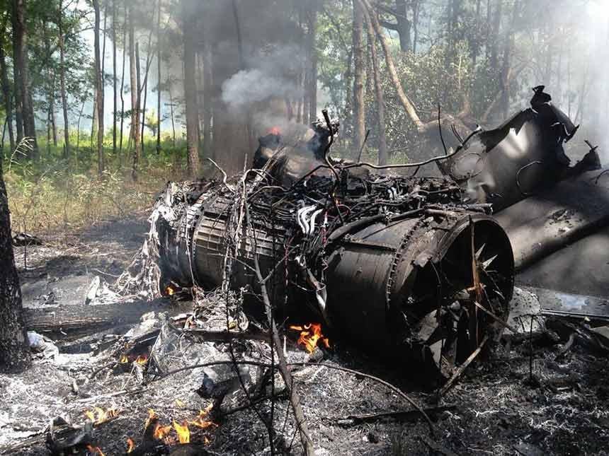 Katastrofa F-16 i Cessny w USA