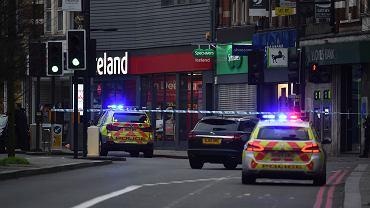 2.02.2020, Londyn, miejsce w którym doszło do ataku nożownika.