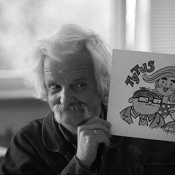 Zmarł Papcio Chmiel - Henryk Chmielewski, rysownik, autor komiksu 'Tytus, Romek i A'Tomek'