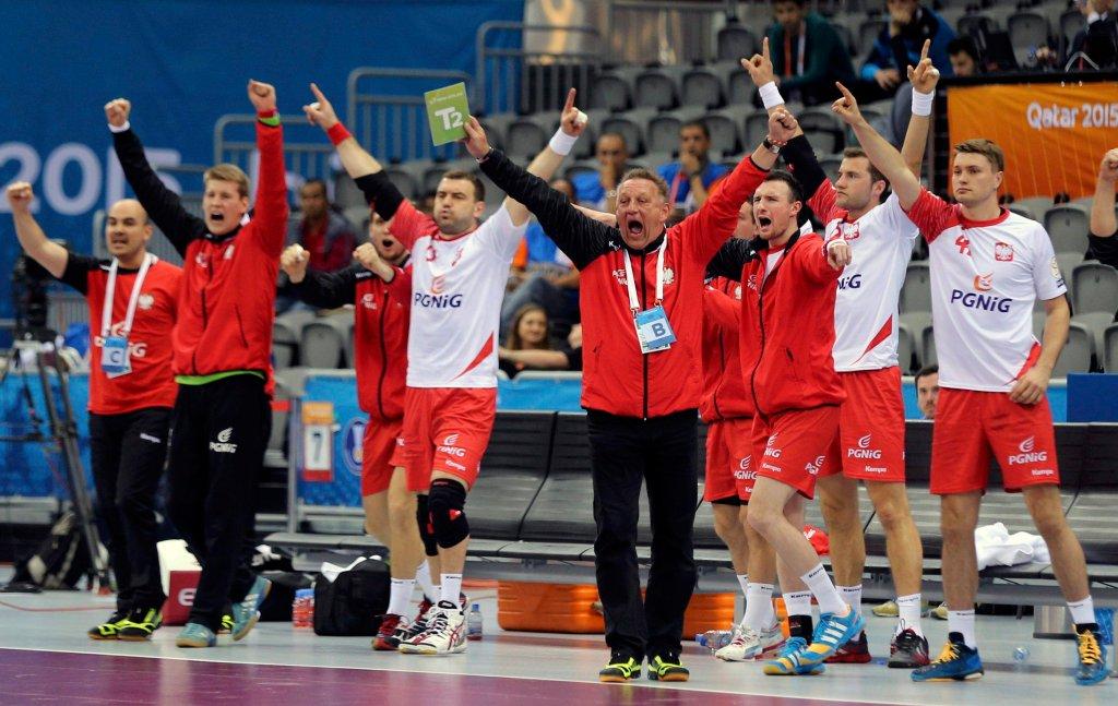 Polska ekipa wybucha radością po kolejnym trafieniu