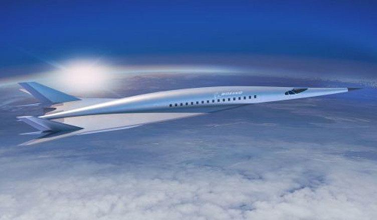 Koncept hipersonicznego samolotu pasażerskiego Boeinga