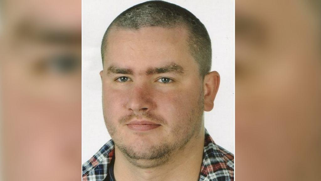 Zaginiony 27-letni Mateusz Jasiński