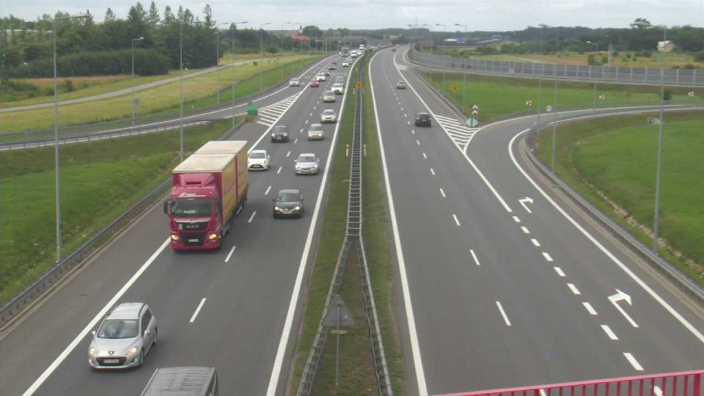 Autostrada A4 - węzeł Bochnia