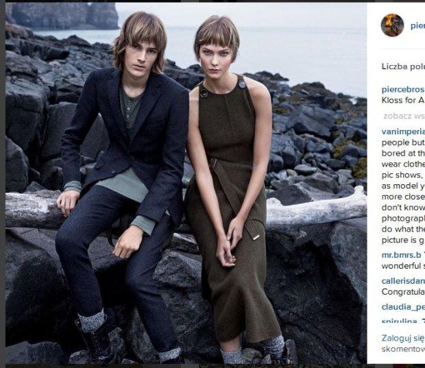 Fot. piercebrosnanofficial/Instagram