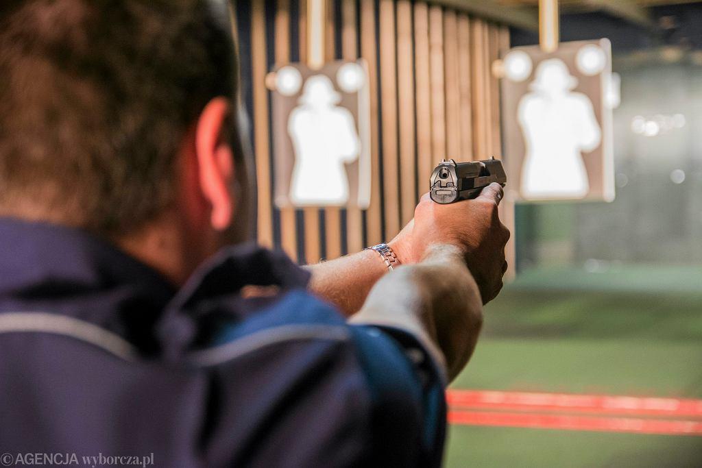 Pościg policyjny w Prandocinie. Padły strzały (zdjęcie ilustracyjne)