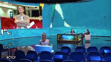 Włochy. Przez koronawirusa popularny talk-show odbył się bez udziału publiczności