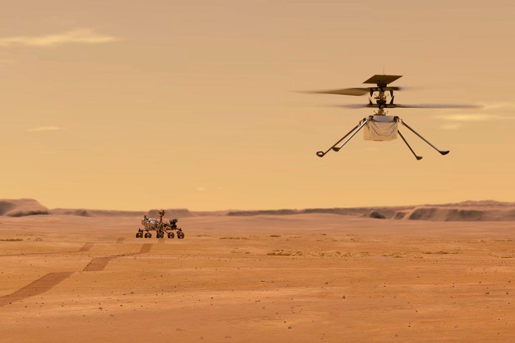 Łazik Perseverance szykuje się do lądowania na Marsie