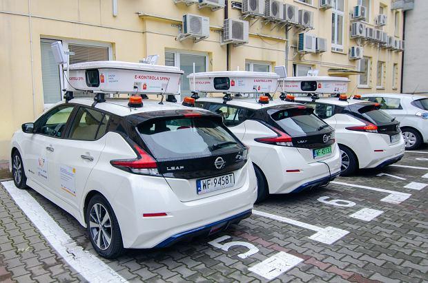 e-kontrola opłat za parkowanie, Nissan Leaf