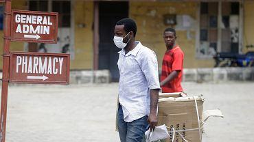 Szpital Yaba Mainland w Lagos, gdzie hospitalizowany jest włoski pacjent chory na koronawirusa. Chorobę zdiagnozowano u niego 28 lutego