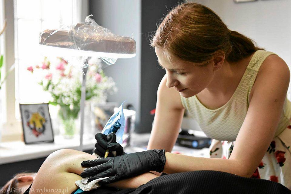 Tatuaże Zamiast Futra Akcja Olsztyńskich Aktywistów