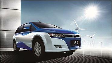 BYD e6 - taksówki miasta Shenzhen