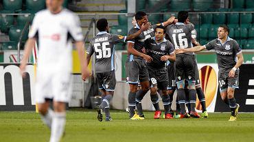 Mecz Legia - Apollon (0:1) rozgrywany przy pustych trybunach