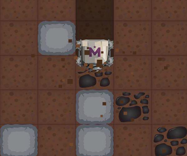 Mechaniczny górnik