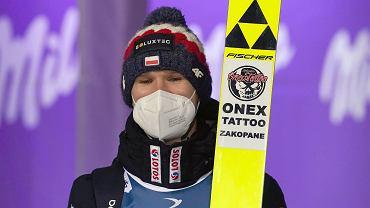 Andrzej Stękała podczas zawodów Pucharu Świata, 17.01.021, Zakopane.