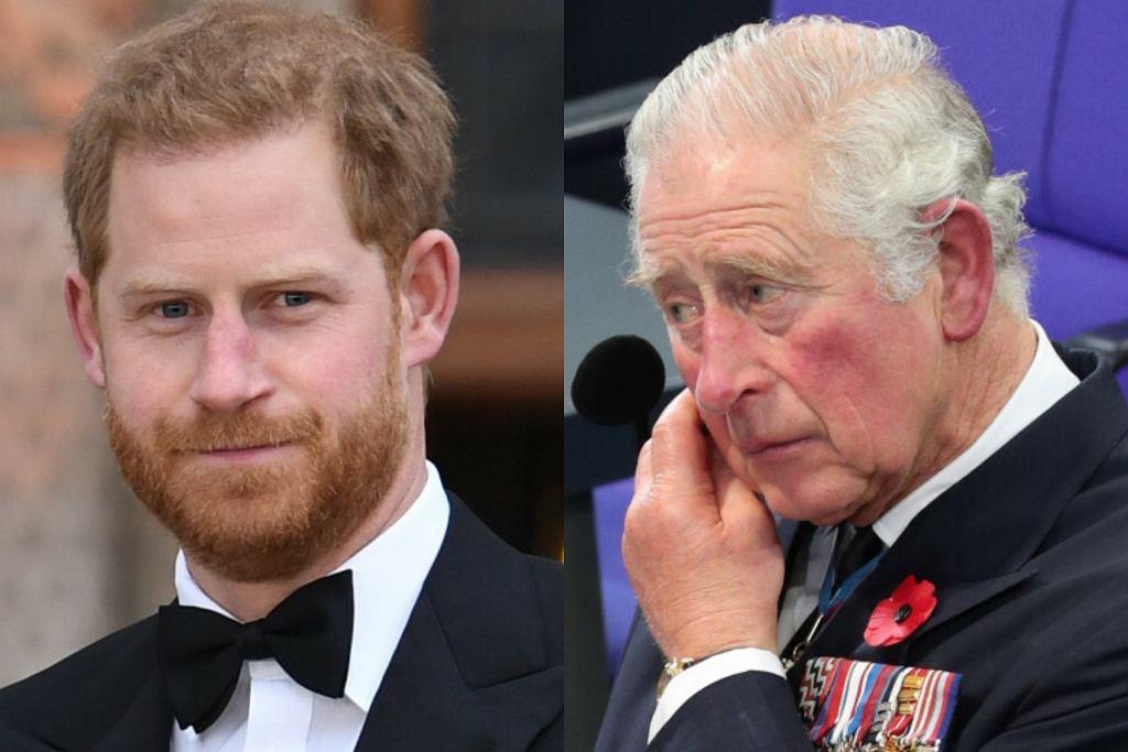 Książę Harry, książę Karol
