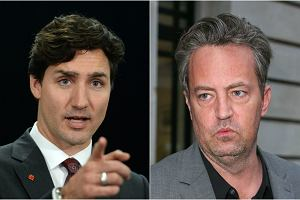 Justin Trudeau, Matthew Perry