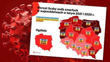 Koronawirus w Polsce. Zgony w lutym.
