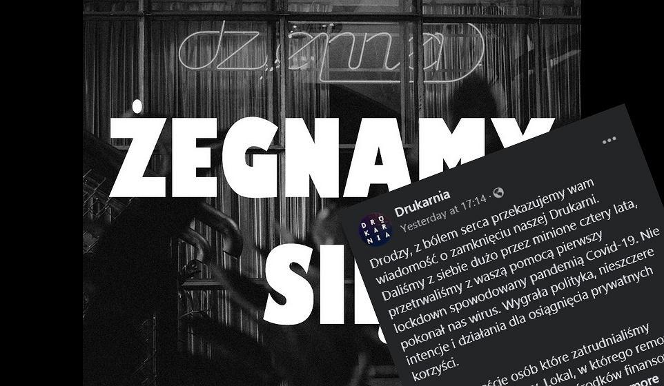 Drukarnia na Pradze kończy działalność z dramatycznym wpisem: Nie pokonał nas wirus. Wygrała polityka