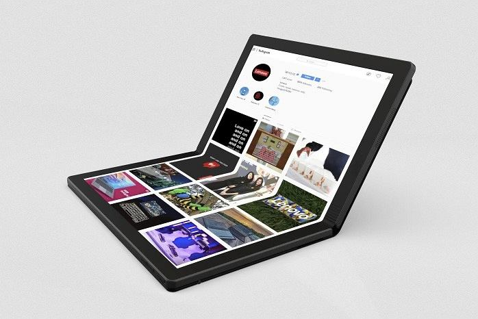 Laptop Lenovo ze składanym wyświetlaczem