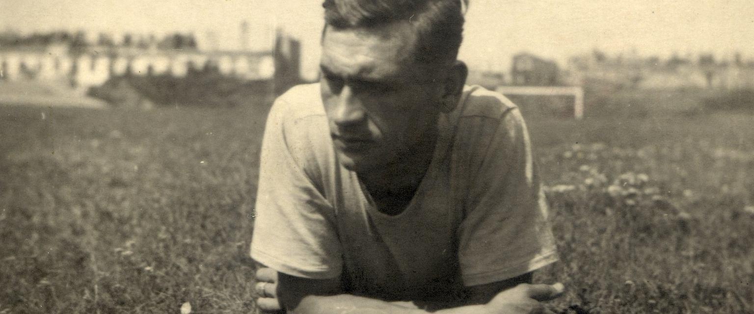 Kazimierz Górski w 1943 roku we Lwowie (fot. Archiwum prywatne / Fotonova)
