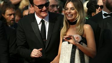 Festiwal Filmowy w Cannes - premiera 'Once Upon a Time in Hollywood' - Quentin Tarantino i Margot Robbie