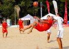 Piłkarze Polski lepsi od Niemców w dwumeczu na plaży