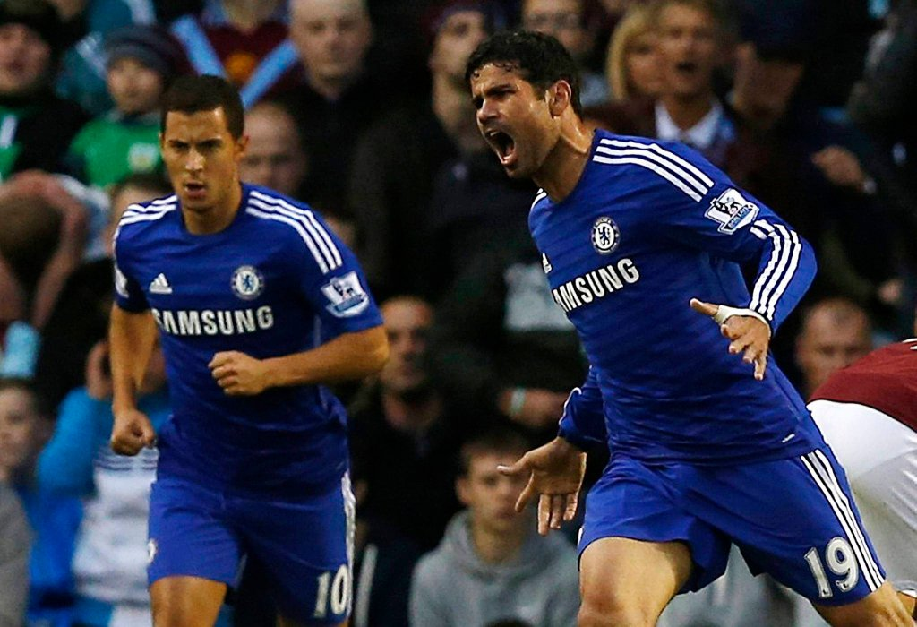 Diego Costa (z prawej)