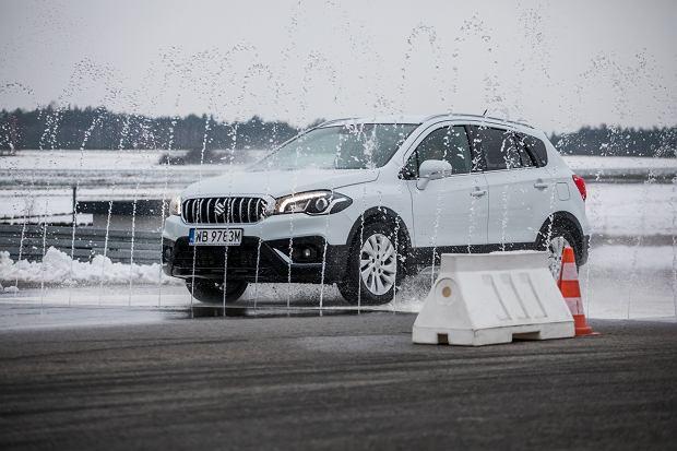 Napędy Suzuki AllGrip - test na torze Jastrząb