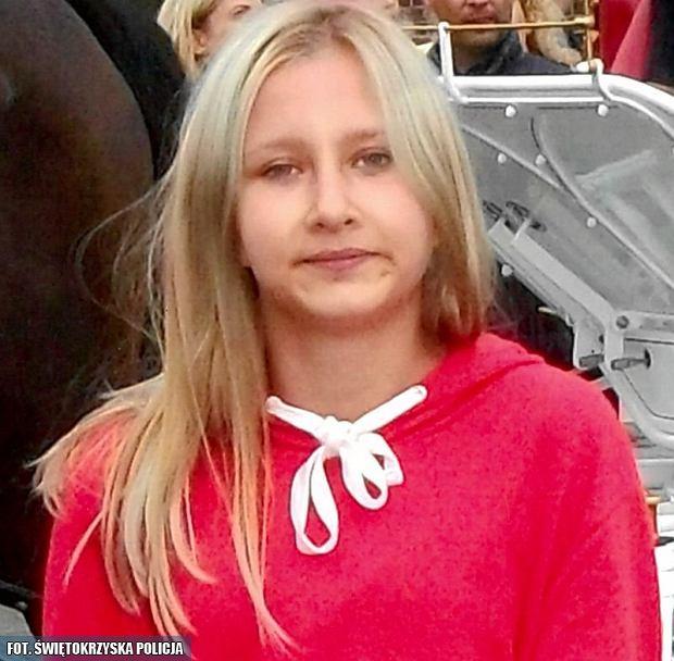 14-letnia Natalia Gontarz, która zaginęła w Starachowicach.
