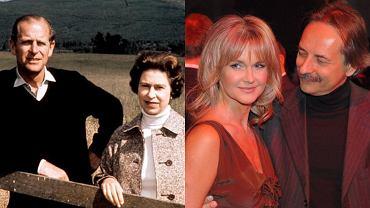 Królowa Elżbieta i książę Filip byli razem 74 lata. Które znane pary szczycą się równie imponującym stażem? Zdziwicie się