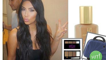 makijaż w stylu Kim Kardashian